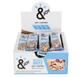 BARRA CEREAL EJOY MIXED NUTS COCO AMENDOA 12X30GR1