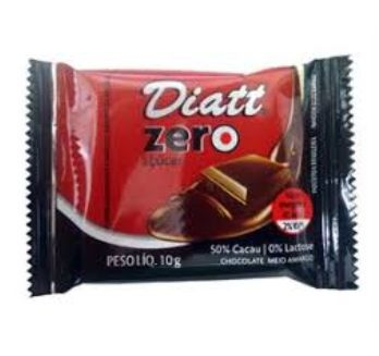 CHOCOLATE DIATT MINI ZERO CACAU 10GR
