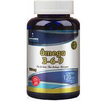OMEGA 3-6-9 1000MG 120CAPS NUTRAMED