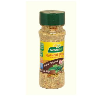 Tempero natural mix frasco 72gr NATURALLIFE