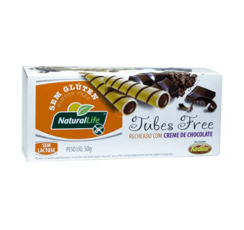 Tubes Free Chocolate Sem Glúten Natural Life