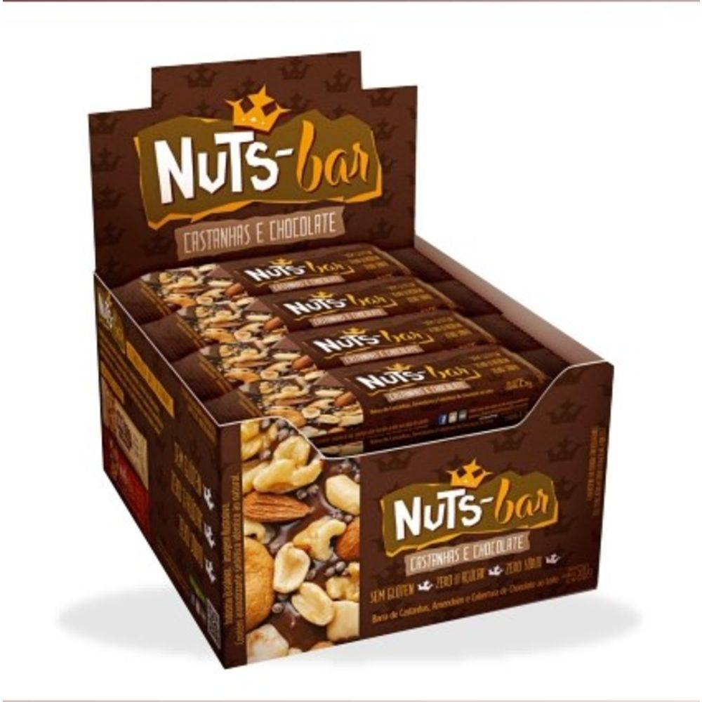 nuts bar castanha
